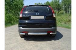 Защита заднего бампера короткая Honda CR-V 4
