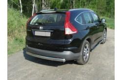 Защита заднего бампера Honda CR-V 4