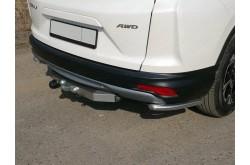 Уголки заднего бампера Honda CR-V 5