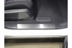 Накладки на пластиковые пороги Honda CR-V 5