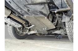 Алюминиевая защита бака и заднего дифференциала Haval H6