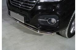 Защита переднего бампера Haval H9
