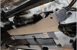 Алюминиевая защита топливных магистралей Haval F7