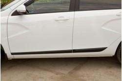 Молдинги дверей Lada ВАЗ Vesta