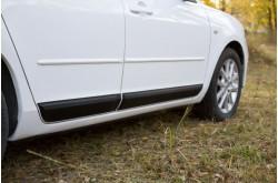 Молдинги дверей Mazda 3 BM седан дорестайлинг