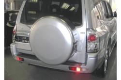 Бокс запасного колеса Mitsubishi Pajero 3