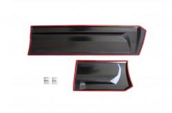 Комплект расширителей колесных арок с молдингами на двери  Nissan Pathfinder R51 широкие