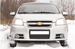 Заглушка решётки переднего бампера Chevrolet Aveo седан