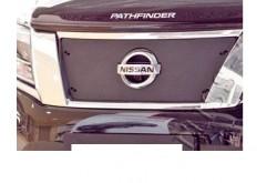 Заглушка решётки переднего бампера Nissan Pathfinder 4