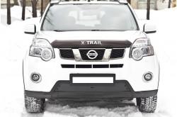 Заглушка решётки переднего бампера Nissan X-trail T31 рестайлинг