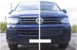 Заглушка решётки переднего бампера Volkswagen Transporter T5 рестайлинг