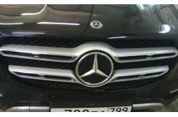 Сетка в бампер с установкой Mercedes Benz GLE