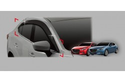 Дефлекторы окон Autoclover Mazda 3 BM