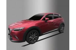 Дефлекторы окон из 6 частей Mazda CX-3