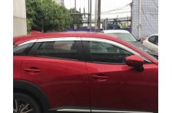 Хромированные дефлекторы окон из 6 частей Mazda CX-3