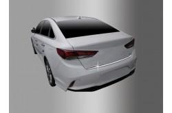 Хромированная накладка крышки багажника Hyundai Sonata 7