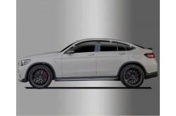 Дефлекторы окон из 6 частей Mercedes GLC Coupe