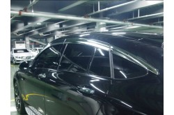 Хромированные дефлекторы окон из 6 частей Mercedes GLC Coupe