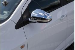 Хромированные накладки на зеркала Chevrolet Aveo 2