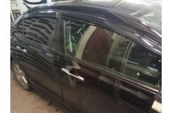 Дефлекторы окон Mugen Style Honda Civic 4D
