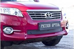 Зимняя заглушка решётки переднего бампера Toyota Rav4 XA30 рестайлинг