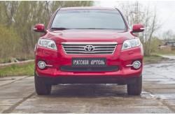 Защитная сетка решетки переднего бампера Toyota Rav 4 XA30 рестайлинг