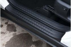 Накладки на внутренние пороги дверей Toyota C-HR