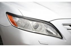 Реснички на передние фары Toyota Camry XV40