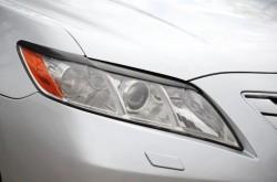 Реснички на передние фары укороченные Toyota Camry XV40