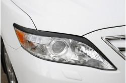 Реснички на передние фары Toyota Camry V40 рестайлинг