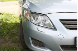 Реснички на фары Toyota Corolla E140 E150 седан