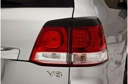 Реснички на задние фонари Toyota Land Cruiser 200