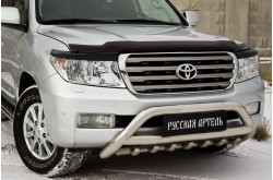 Реснички на передние фары Toyota Land Cruiser 200