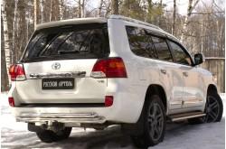 Реснички на задние фонари Toyota Land Cruiser 200 рестайлинг