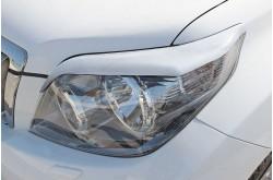 Реснички на передние фары Toyota Land Cruiser Prado 150