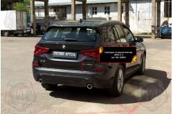 Накладка на задний бампер BMW X3 G01