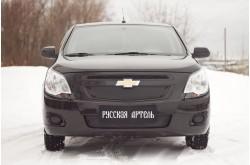 Зимняя заглушка решётки радиатора и бампера Chevrolet Cobalt 2