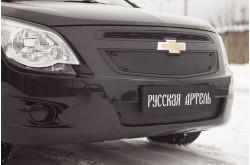 Защитная сетка и заглушка решетки переднего бампера Chevrolet Cobalt 2
