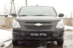 Защитная сетка решетки переднего бампера Chevrolet Cobalt 2