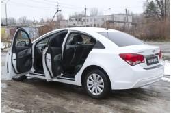 Защитный комплект на Chevrolet Cruze рестайлинг
