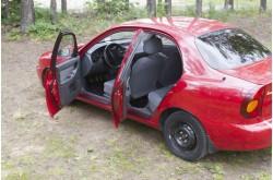 Накладки на внутренние пороги дверей Chevrolet Lanos