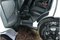 Накладки на внутренние пороги дверей Chevrolet NIva