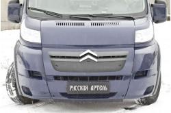 Зимняя заглушка переднего бампера Citroen Jumper