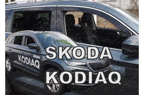 Вставные дефлекторы окон Skoda Kodiaq