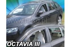 Вставные дефлекторы окон Skoda Octavia A7 универсал