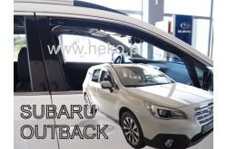 Вставные дефлекторы окон Subaru Outback 5