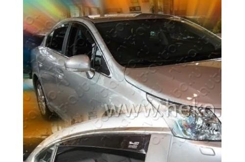 Вставные дефлекторы окон Toyota Avensis 3 седан