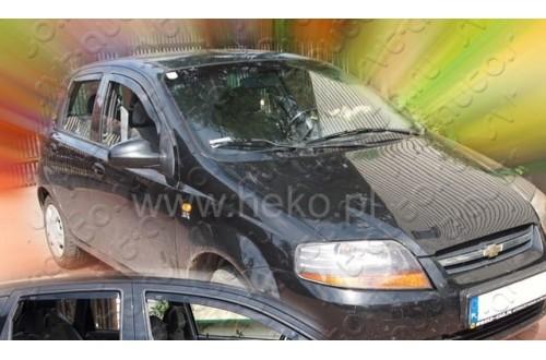 Вставные дефлекторы окон Chevrolet Aveo хэтчбек