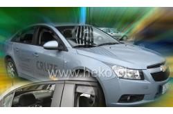 Вставные дефлекторы окон Chevrolet Cruze седан