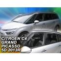 Вставные дефлекторы окон Citroen C4 Grand Picasso 2